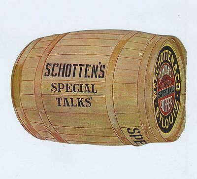 1800's Advertising Trade Card Wm Schotten Co's Special Coffee St Louis MO cv7314