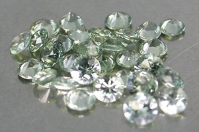 Wholesale 2.31 Cts Rd 2.31 Ct Sparkling Natural Green Sapphire Round Diamond Cut