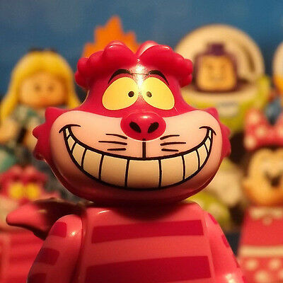 """Lego Disney Minifigure """"cheshire Cat""""  Fresh Out Of Pack Collectible Series"""