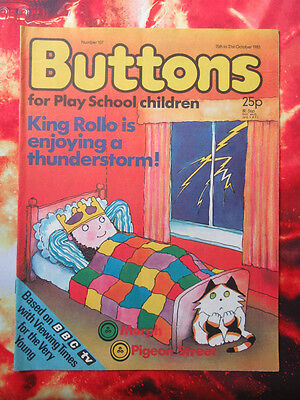 Buttons Comic No.107. 15 October 1983 Unread, Unsold Newsagents Stock. Nrmint