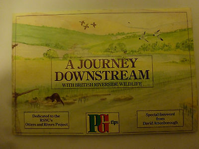 Completed  Brooke Bond / Pg Tips Tea Card Album - - A Journey Down Stream