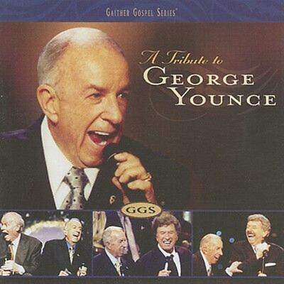 Tribute to George Younce - Bill & Glor Gaither Compact Disc Free Shipping!