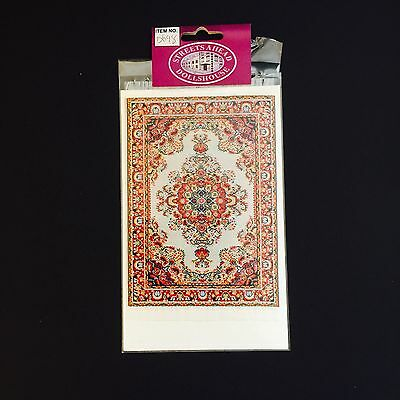 Dolls House Miniature Carpet RUG Turkish silk 1:12 Accesory (A)