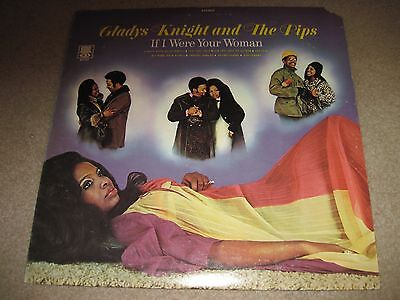 GLADYS KNIGHT & THE PIPS If I Were Your Woman 1971  Soul/Motown label NEAR MINT