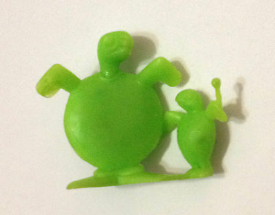 R&l Cereal Toy 1969 Neptunes Band ~ Tom-Tom Turtle ~ Lime ~ Rare, Kelloggs