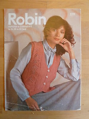 Knitting Pattern for Woman's Waistcoat with Shetland Lace influenced panels
