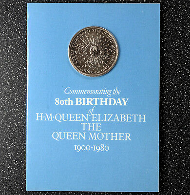 1980 Crown 80th Birthday of HM Queen Elizabeth the Queen Mother