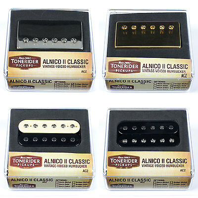 Tonerider Humbucker Pickup: Alnico II PAF Classic (AC2) for Les Paul, SG etc