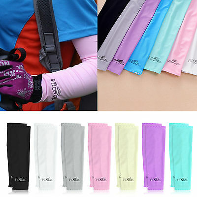 Cycling Clothing Bike Bicycle Outdoor UV Sun Golf Protection Arm Sleeve Cover