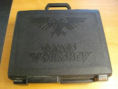 Warhammer Games Workshop 3 Tier Carry Case vg condition FREE POSTAGE!