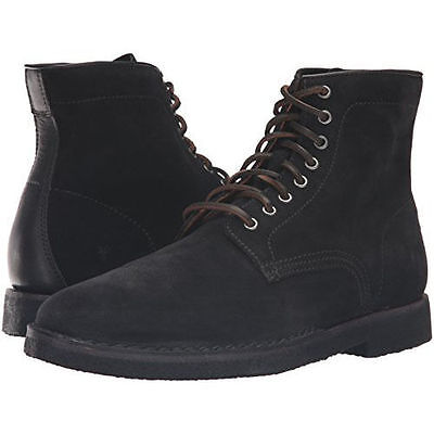 4f5813beb7e WOLVERINE REESE CAP Toe Lace Black Boots Leather Sz 8, 8.5, 9, 11 ...