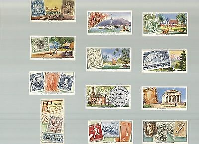 Stamps Rare & Interesting - A part set of cards ( 12/50 ) issued by Ardath