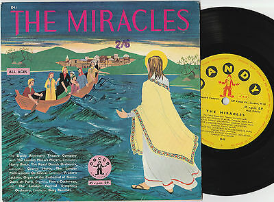 "The Dandy Repertory Theatre Company The Miracles (15010) 7"" EP  Dandy Records"