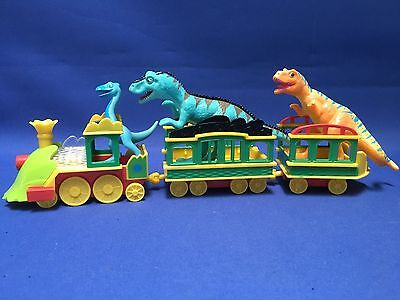 Dinosaur Train Set With Figures, Lights & Sound Effects