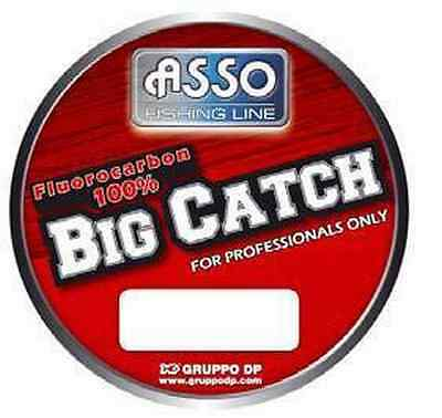 Monofilamento Big Catch 0,70 Mm Asso 50 Mt Fluorocarbono Pesca Marítima