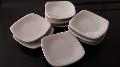 9 Dollhouse Miniatures Cookware & Tableware Handcrafted Ceramic Food Dishes B