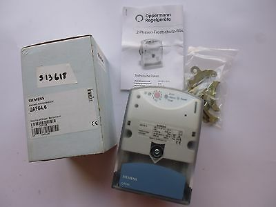 QAF64.6 siemens Thermostat antigel Antifreeze thermostat 2 phases 24vac