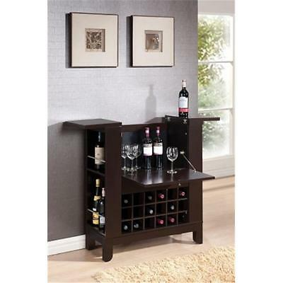 Acme Furniture Industry 97010 Nelson Wine Bar in Wenge