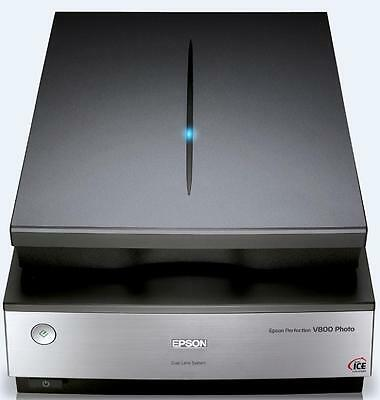 Epson Perfection V800 Film and Photo Scanner Quick Start Scan from any source