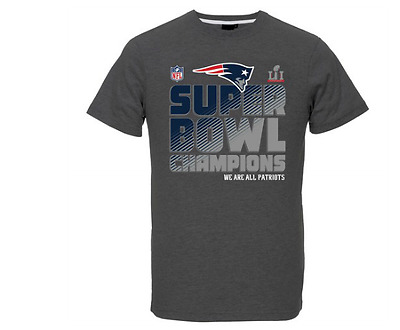 "New England Patriots Official Nfl New Superbowl Li "" Champions "" T/shirt"