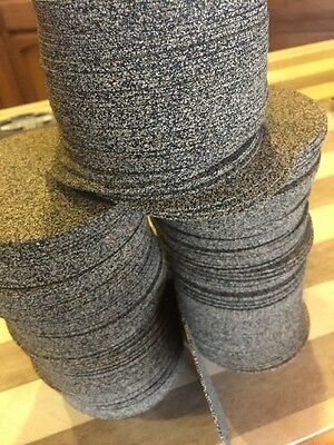 """Cork And Rubber Discs 1/16"""" Thick 3""""3/4"""" Round 240 Discs"""