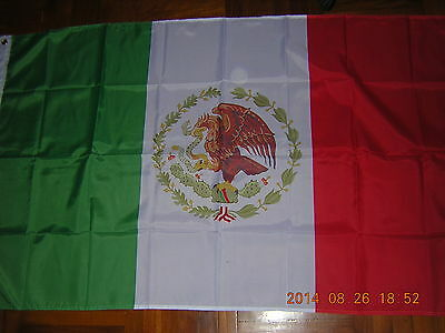 100% NEW reproduced flag Mexican Ensign Mexico 1934-1968, 3ftX5ft good quality