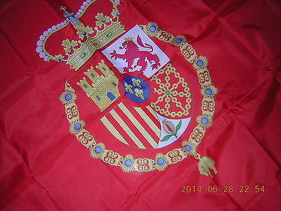 2014 Royal Standard Spain Estandarte Real Estandarte del Rey Spanish Felipe VI
