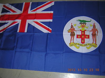 Reproduced British Empire Flag Pre 1962 British Colonial Jamaica Ensign, 3ftX5ft