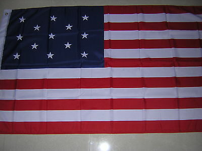 NEW Reproduced Franco-American alliance 1778 Flag France French American Ensign