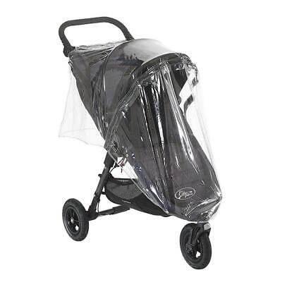 Baby Jogger Raincover to fit GT Single / City Mini Single with Carrycot Fitted