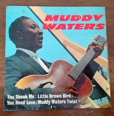 "Muddy Waters: You Shook Me (7"" Vinyl EP) NEP 44010 1963"