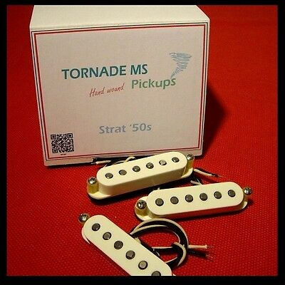 SET 3 MICROS TORNADE MS STRATOCASTER '50s PICKUP