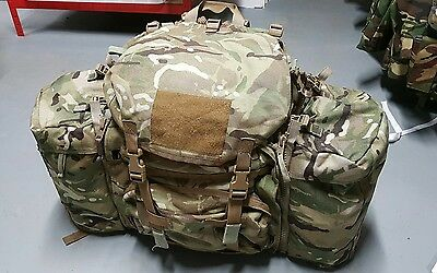 Modified British Army PRI MTP Infantry Bergen Daysack 45 litres Webbing Infantry