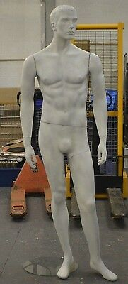 Male Full Bodied Standing Mannequin On Glass Stand M9