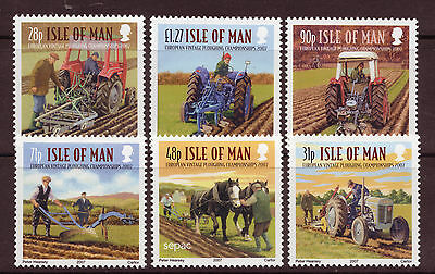 Isle Of Man 2007 European Vintage Ploughing Championships Mounted Mint.