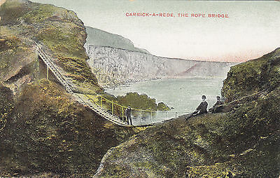 CARRICK-A-REDE Co. Antrim Northern Ireland 1907-15 Chas L. Reis & Co. Postcard