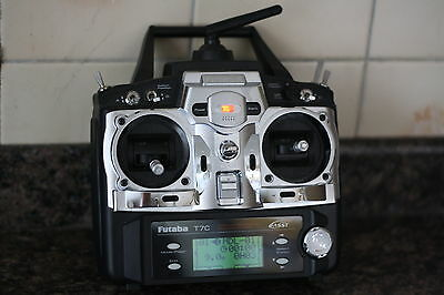 # FUTABA T7C (FF7)  2.4ghz.TRANSMITTER ONLY FOR AIRCRAFT/HELICOPTERS/GLIDERS #