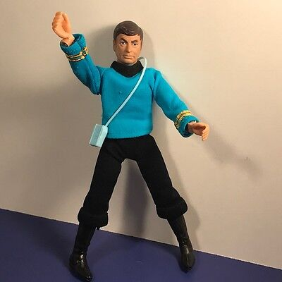 1974 Mego Star Trek Action Figure Toy Doll Doctor Dr Bones Mccoy Deforest Kelley