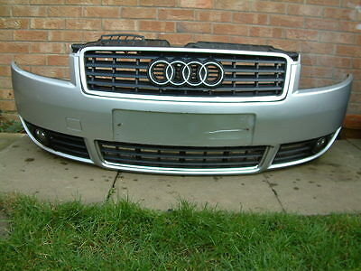 Audi A4 B6 Cabriolet 1.8T 2004 Front Bumper Complete ( Silver Code Ly7W )