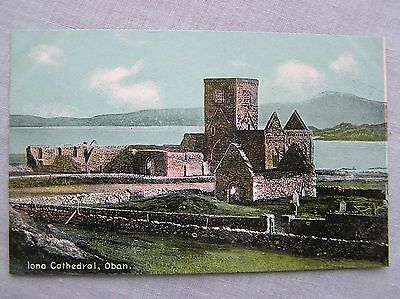 POSTCARD - ISLE OF IONA - THE CATHEDRAL - INNER HEBRIDES - c.1908