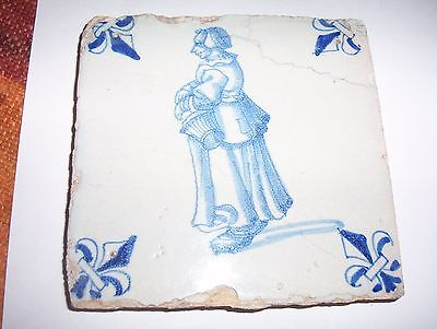 Delft Tile c. 18th  century   (22)