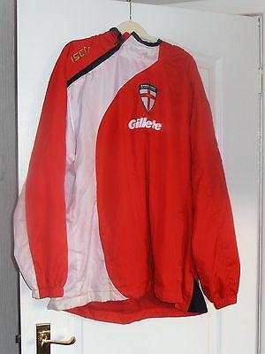 ISC England Rugby League Hooded Top XL