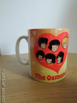 The Osmonds - Cartoon Mug