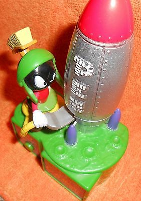 Pez Marvin The Martian Candy Dispenser Battery Operated...FREE SHIPPING!   #1327