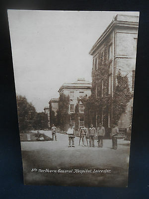WW1 Postcard ** 5th NORTHERN GENERAL HOSPITAL LEICESTER ** c.1916