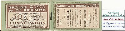 N0102 - TIMBRES DE FRANCE - Carnet N° 159 - C3 Neuf** S 44