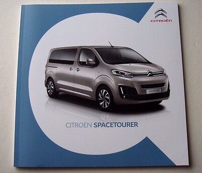 Citroen . Spacetourer . Citreon Spacetourer . August 2016 Sales Brochure