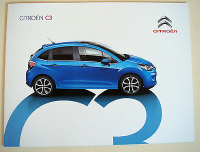 Citroen . C3 . Citroen C 3 . February 2016 Sales Brochure