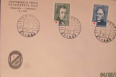 1949 Finland Red Cross Cover Mint