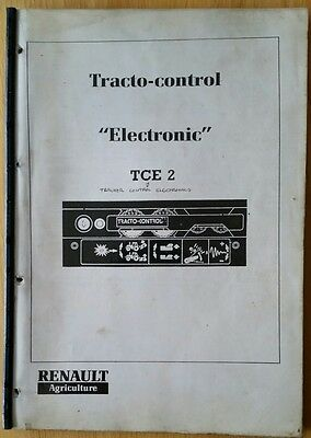 Renault Tractor Tracto-Control Electronic Tce2 Training Manual